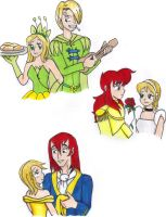 Disney Couple Egos by KessieLou