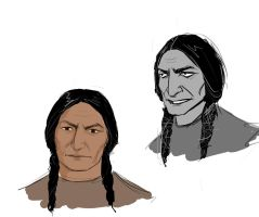 Sitting Bull portrait by Lucius007