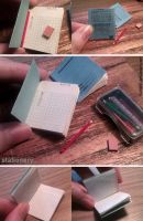 Miniature: Chinese writing book by fiat500S
