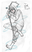 RotG: Jack Frost +SKETCH+ by UmbraOwl