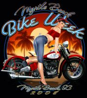 Bike Week Pinup by hardnox757