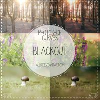 Free Photoshop Curves - BLACKOUT by all17