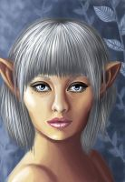 Moon Elf by e5ther