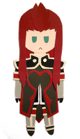 Paint Chip Chibi - Asch by firekarst