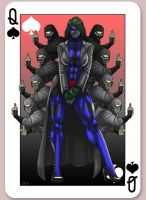 The Mad Queen (of Spades) by CerberusLives