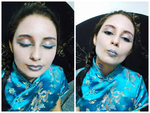 Mermaid make up by CorpseChild95