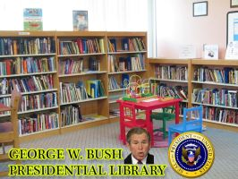 GEORGE W. BUSH PRESIDENTIAL LIBRARY by crizzlesbuttons