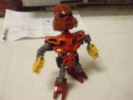 Vakama as a Matoran by AuraShaman