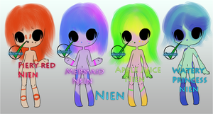 (CLOSED)Nien Adopts - Closed Species by AcidicAdopts