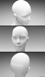 Robotic Head ( Cinema 4d / zbrush / vray 3ds max ) by overd0sedesignssss