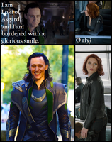 Burdened with a Glorious Smile by UnforgetableGiggle