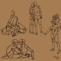 Couple poses by Orlilu