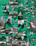 F-4B Phantom 'MiG Killer' Papercraft by Mironius