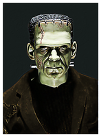 Frankenstein by PsycoJimi