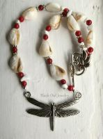 Dragonfly Necklace by IdolRebel