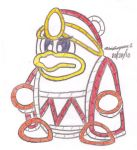 Yarn King Dedede by MarioSimpson1