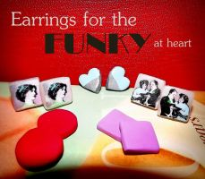 Decoupage Earring Designs by Waitingforfuntocome