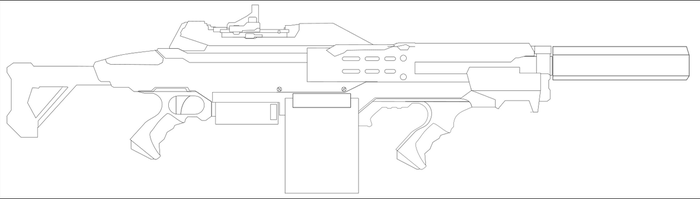 Background Rifle one - WIP by Jon-Michael-May