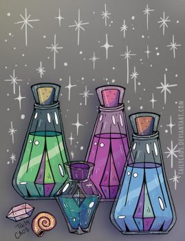 potion magic by TailyCaos