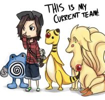 My Team    for now by Bored-dood
