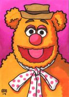 Fozzie Sketch Card by TheRigger