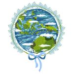 Keep blue, green, and white my beautiful earth by madna29