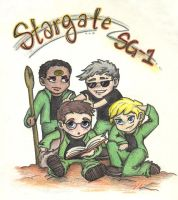 Stargate Team by meek-minx
