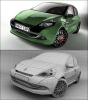 Renault Clio Sport by Tom-3D