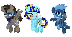 Discord Whooves Cast Shrinkies by JitterbugJive