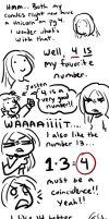 I just REALLY like the number 4, OK? by DelusionInABox