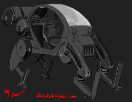 Mecha Concept by lesswanted