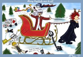 Merry Keyblade-mas to All by ZTKuko