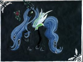Queen Chrysalis by Angel-gotic