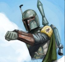 Boba Fett - Colors by adr-ben