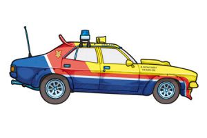 1974 Ford Falcon XB by 451illustration