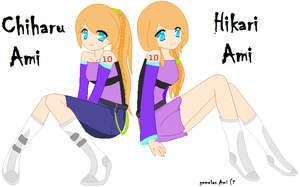 gemelas ami :3 (vocaloid oc) by lissydash