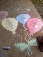 Chalk Balloons by metalchick200615
