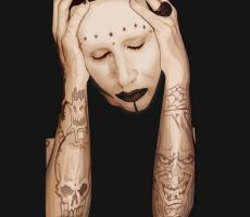 Marilyn Manson by annarki