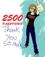 2500 Pageviews by EzzyAlpha