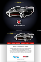 Muscle Car Factory Webdesign by aNdre-W