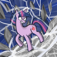 Raging Twilight by RainbowGambler