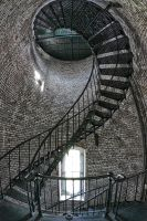 Currituck Lighthouse Stairs two by pewter2k