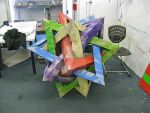5 Intersecting Tetrahedra by Jiekai