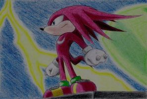 Knuckles the Echidna by dkute