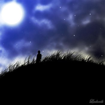 Blue moon by ludovik666