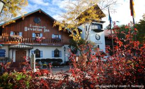 Bavarian Inn in the Fall by jrbamberg