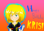 Happy Birthday Kris!!!! !! ! (/OuO)/ by Yoshilove9