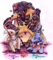 .: ~Three unique creatures~ :. by PrideAlchemist7