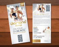 Diamond Lounge Flyer 2 by kejdi