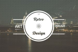 5 Retro Insignia Logos and Badges V1 by symufa